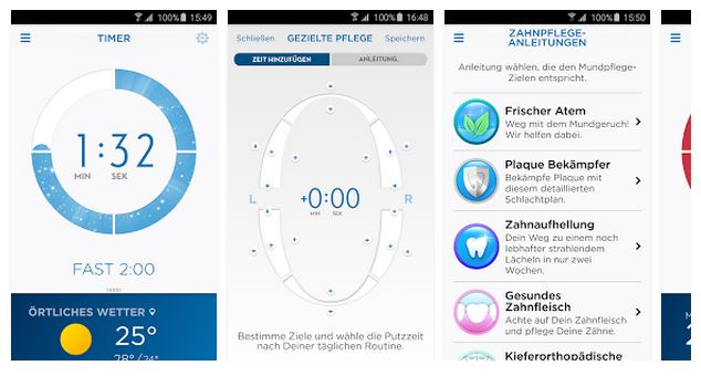 Oral-B App Quelle: Google Play