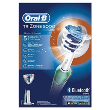 Oral B Trizone 5000 3d Action 3d Technologie Mit Bluetooth Smart Fuer Eine Ultim 3